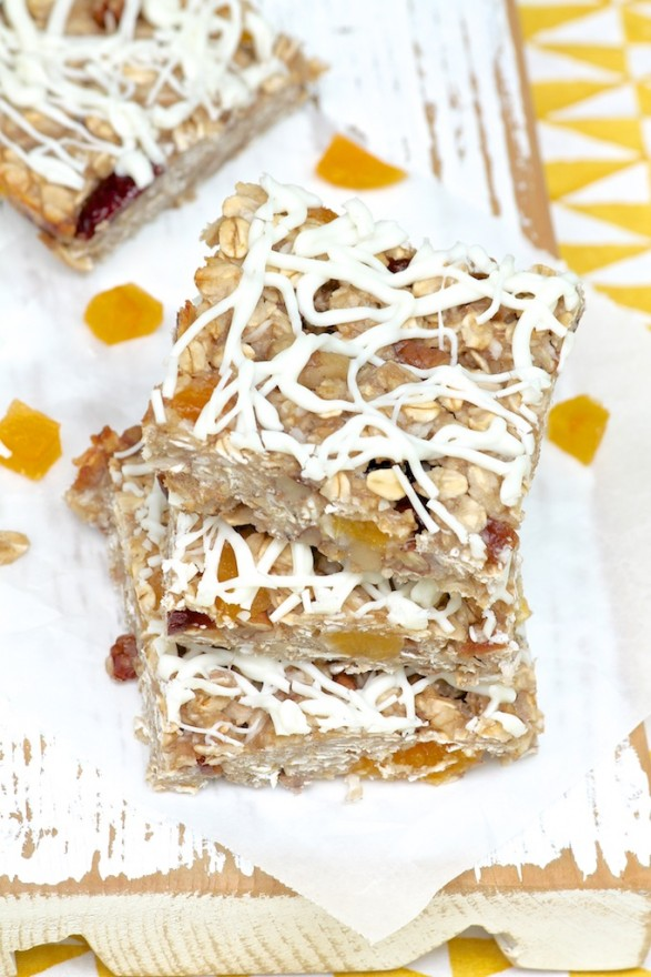 Apricot Nut Bars
