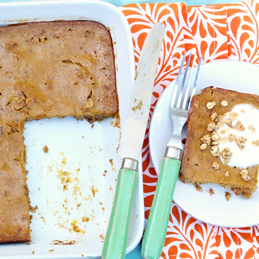 Pumpkin Pie Breakfast Bars