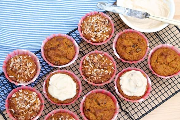 "Pumpkin ""Bran"" Muffins"