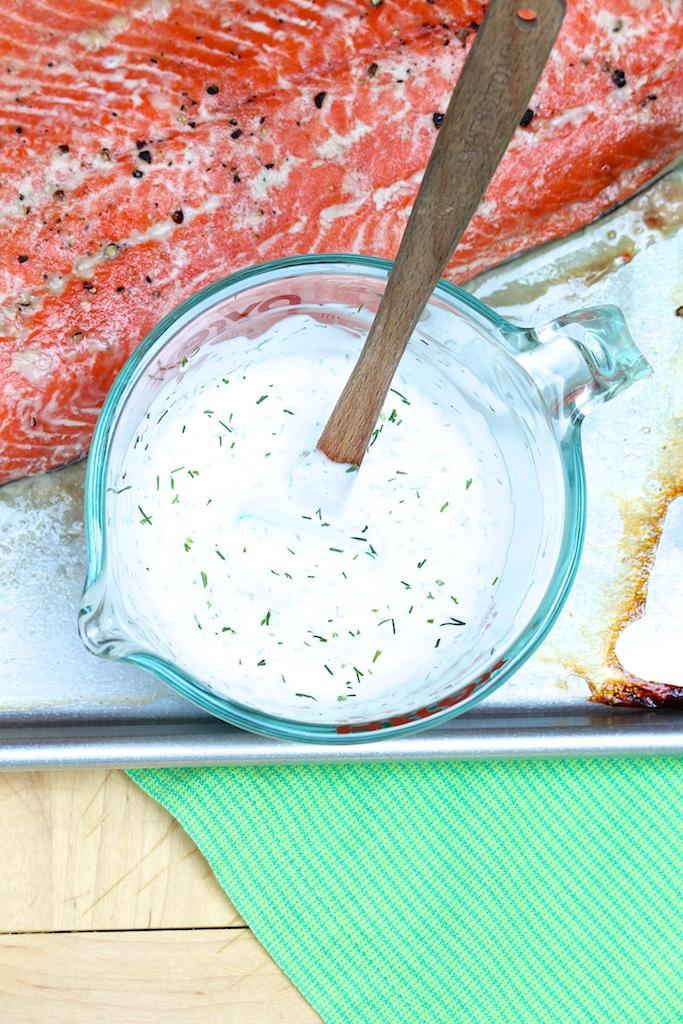 Creamy Horseradish Dill Sauce