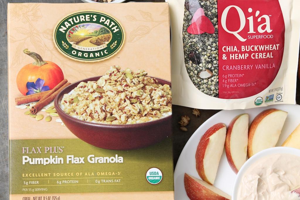 Pumpkin Flax Granola & Qi'a