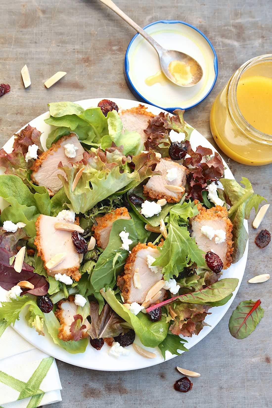 green goat salad