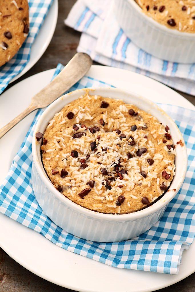 Coconut-Banana Bread Breakfast Cakes