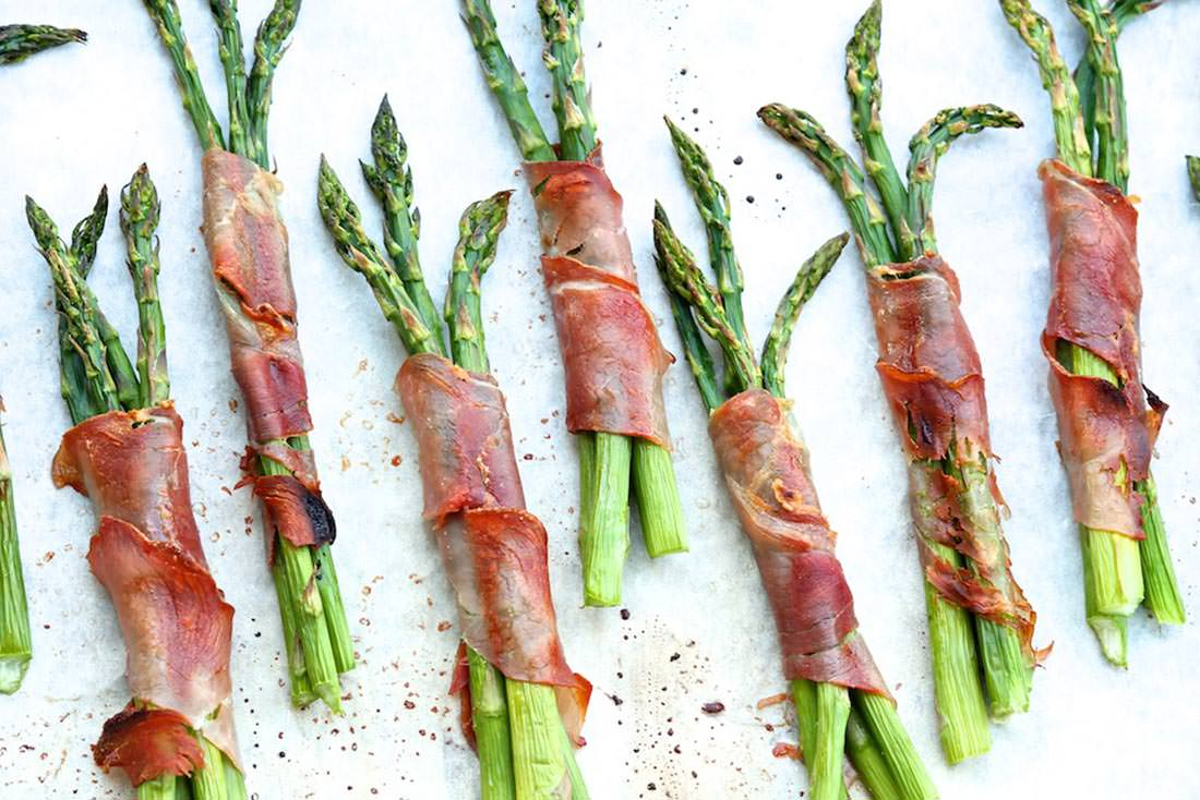 Prosciuttowrapped Asparagus