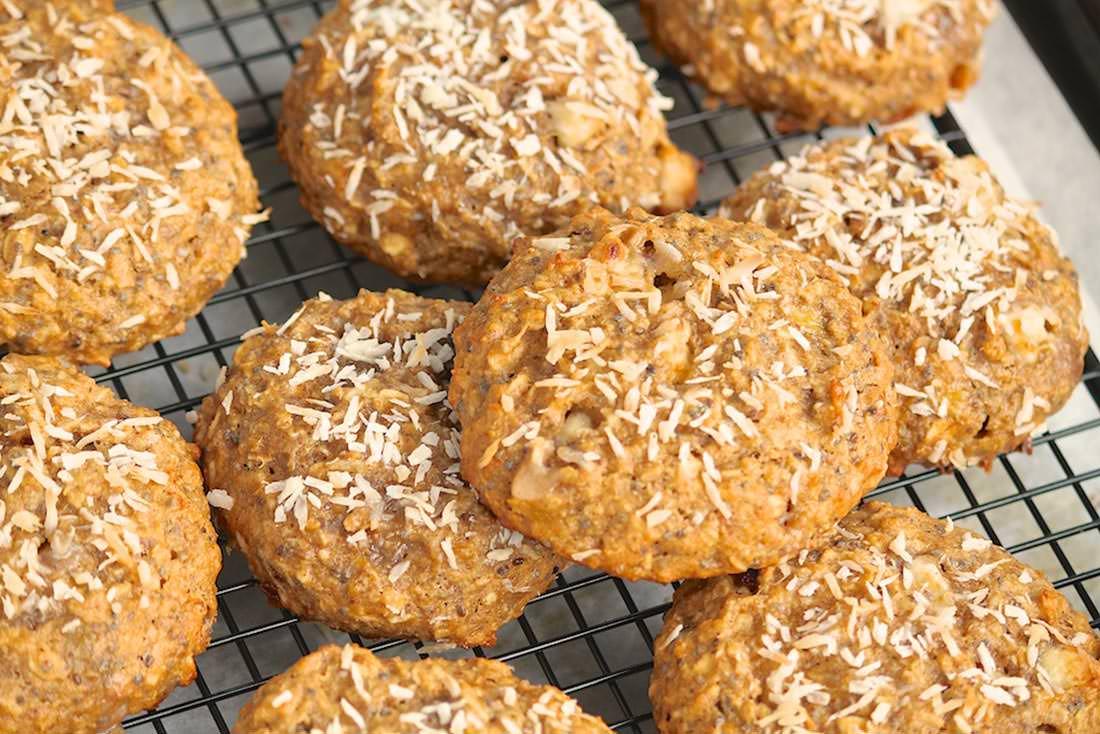 Coconut Quinoa Breakfast Cookies
