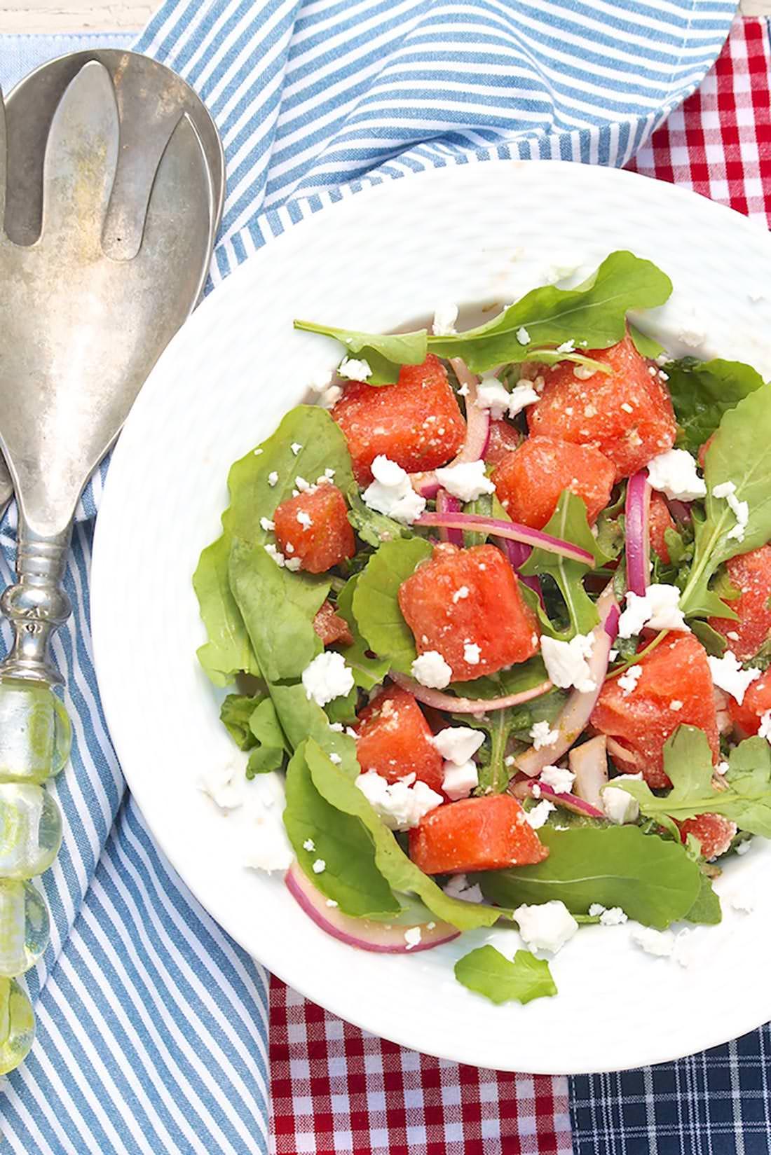 Abby's Watermelon Salad