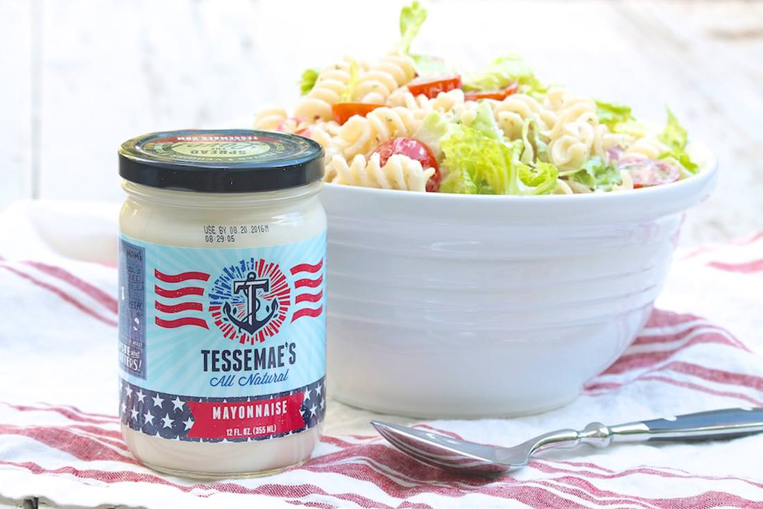 BLT Pasta Salad with Avocado