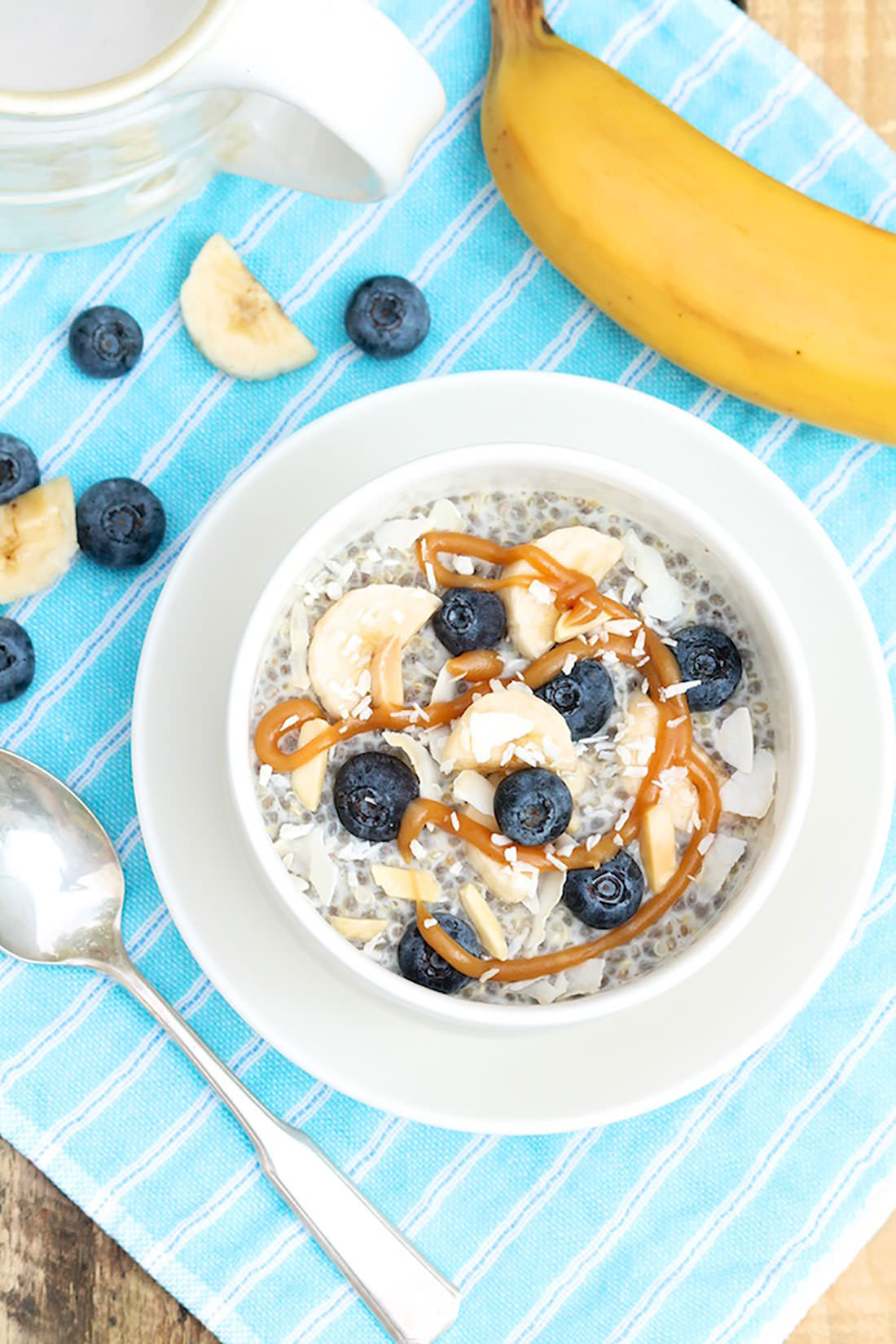 Honey Nut Quinoa Breakfast Bowl