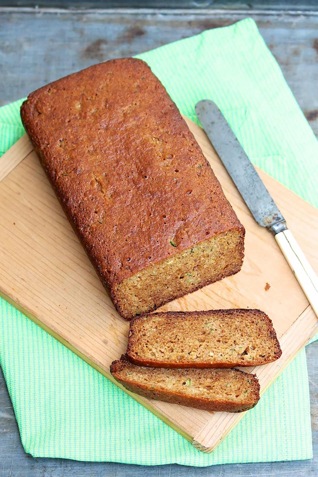 Paleo Zucchini Bread