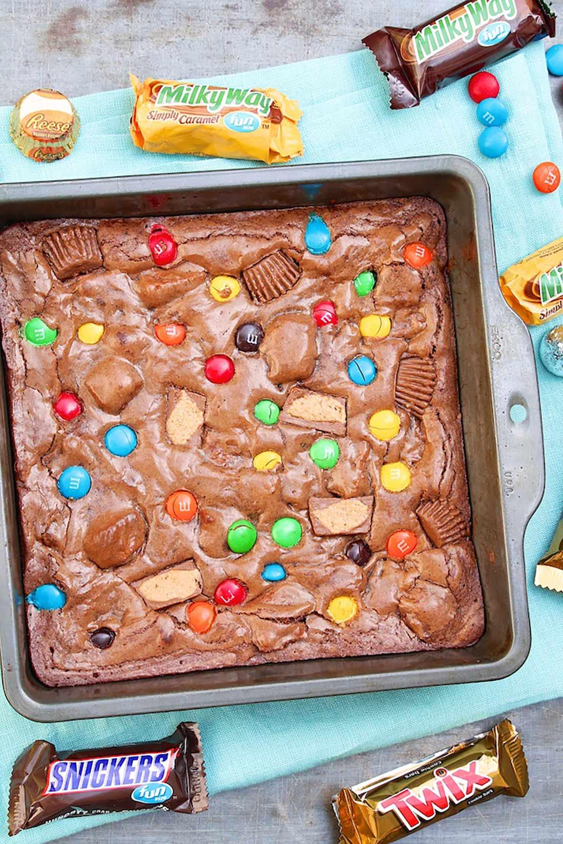 Candy Bag Brownies