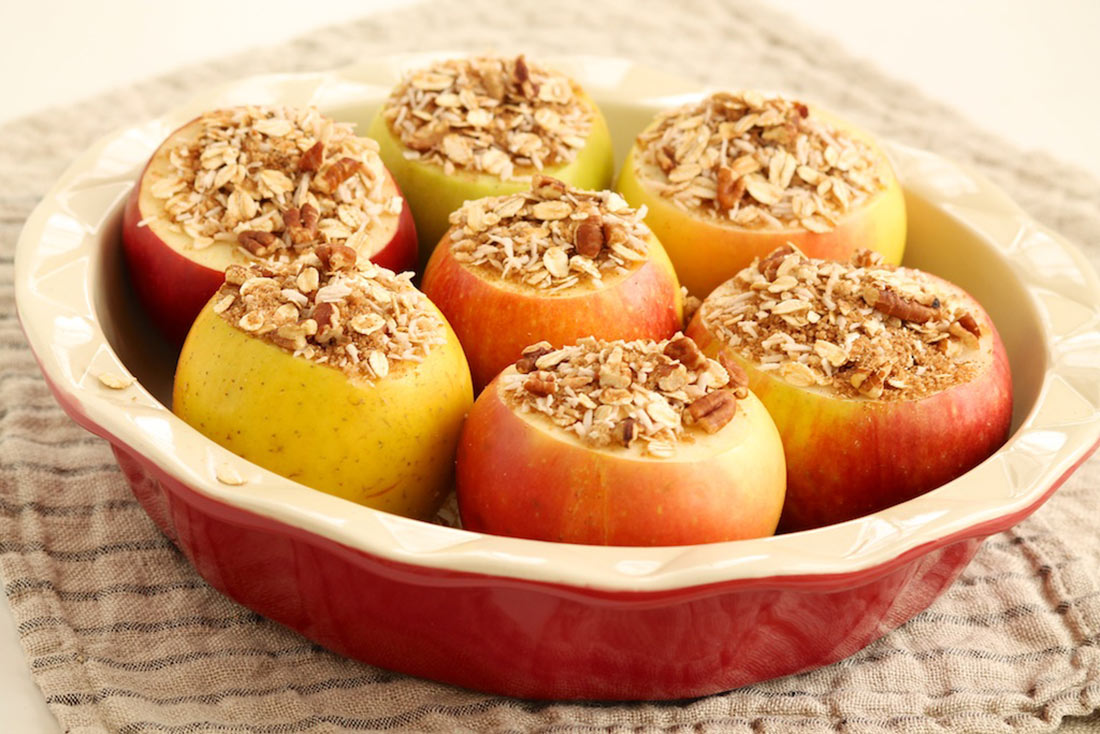 Cider Baked Apples