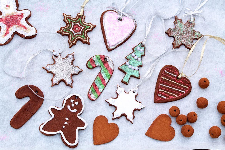3-Ingredient Cinnamon Ornaments