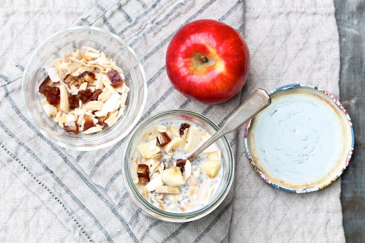 Bircher Muesli Jars