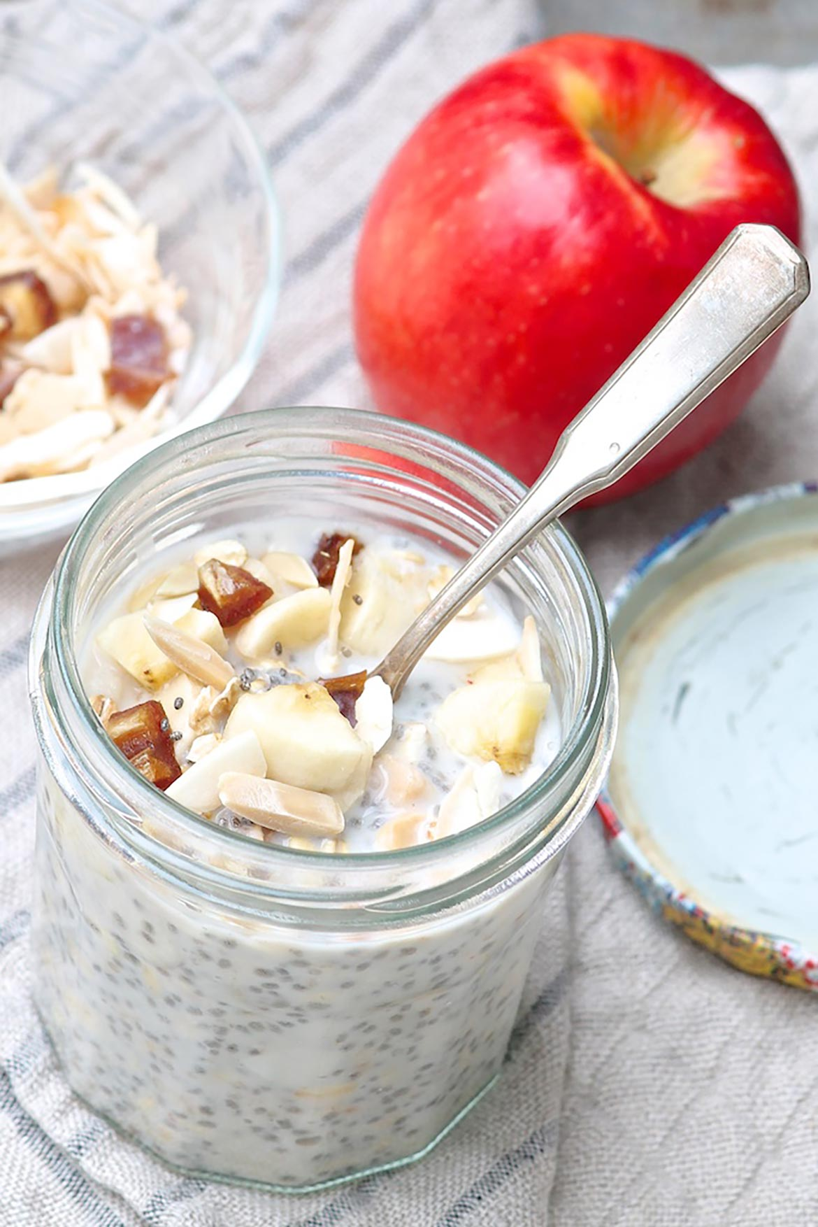 Prep a batch of Bircher Muesli Jars (with store-bought or my homemade Toasted Maple Muesli) for quick & easy breakfasts all week long!