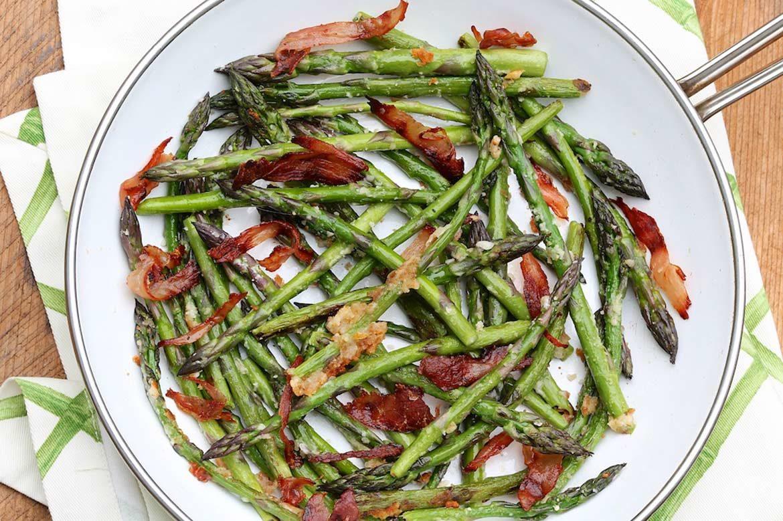 recipe: asparagus prosciutto parmesan [22]