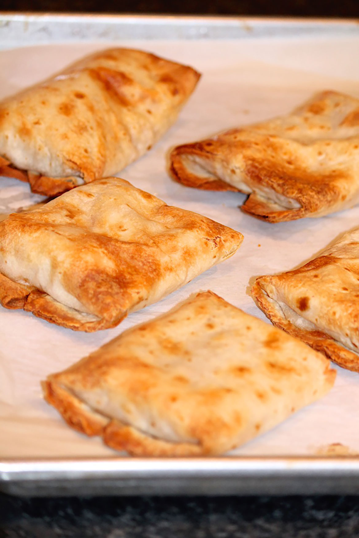 crispy baked chimichangas the fountain avenue kitchen