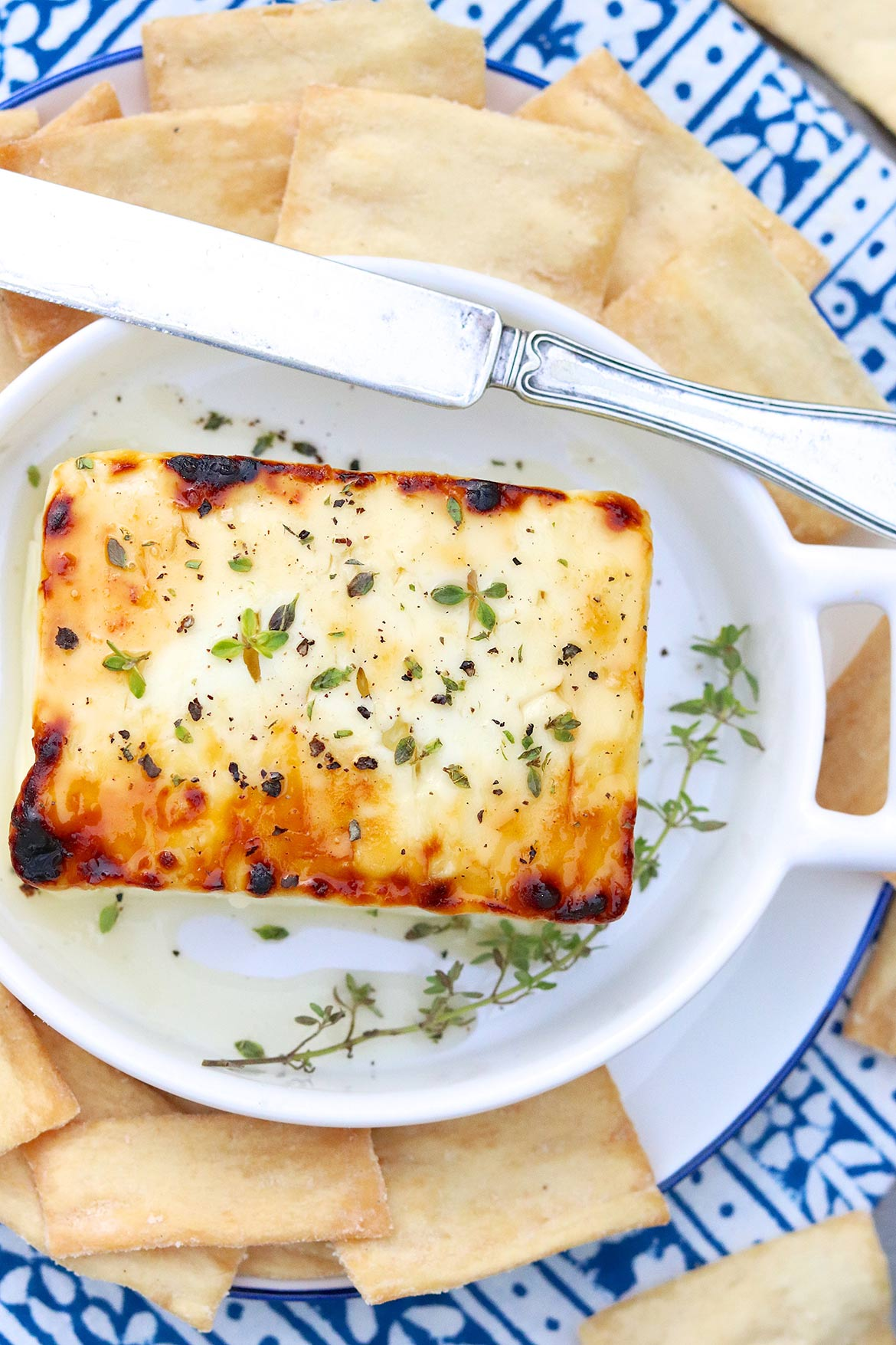 """A dear friend called this delicious appetizer easy but """"showy."""" Love that!"""