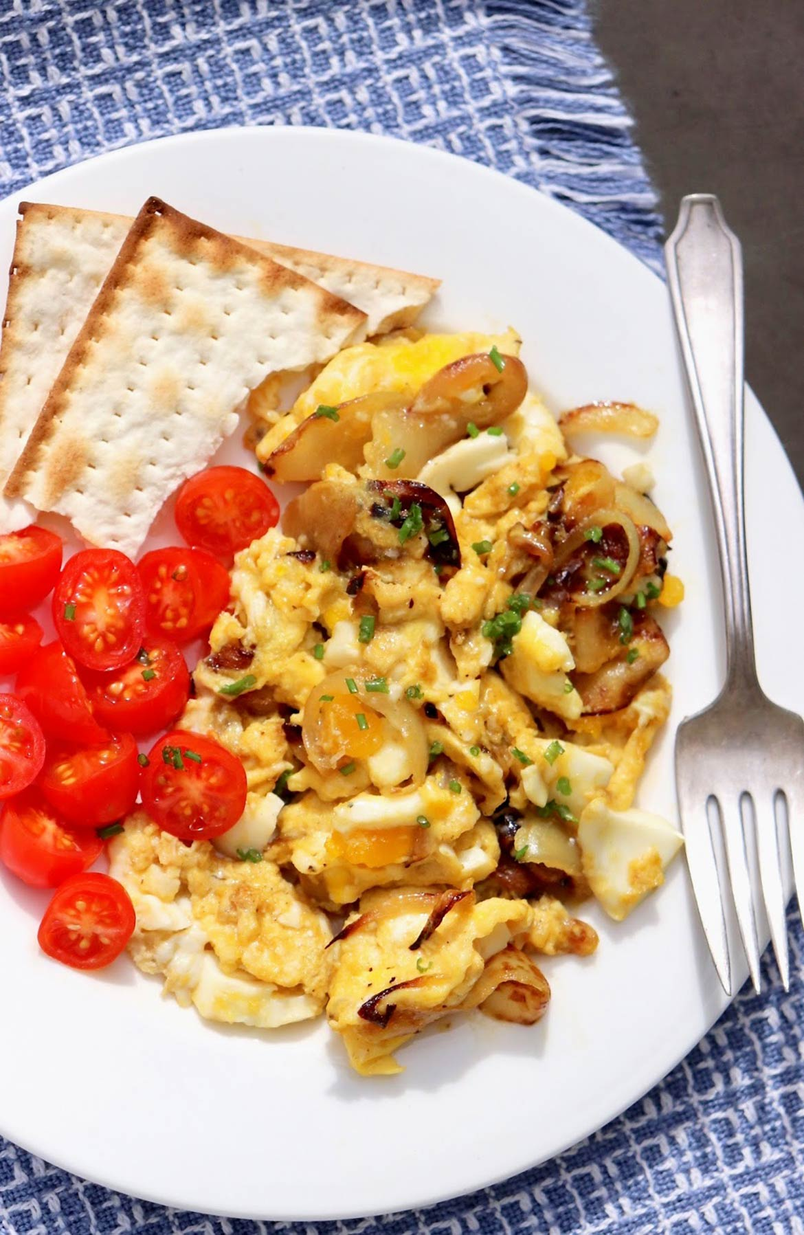 Scrambled eggs with a welcome twist!