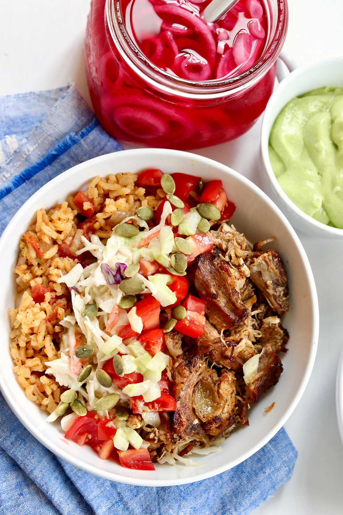 A few key components create the best burrito bowls!