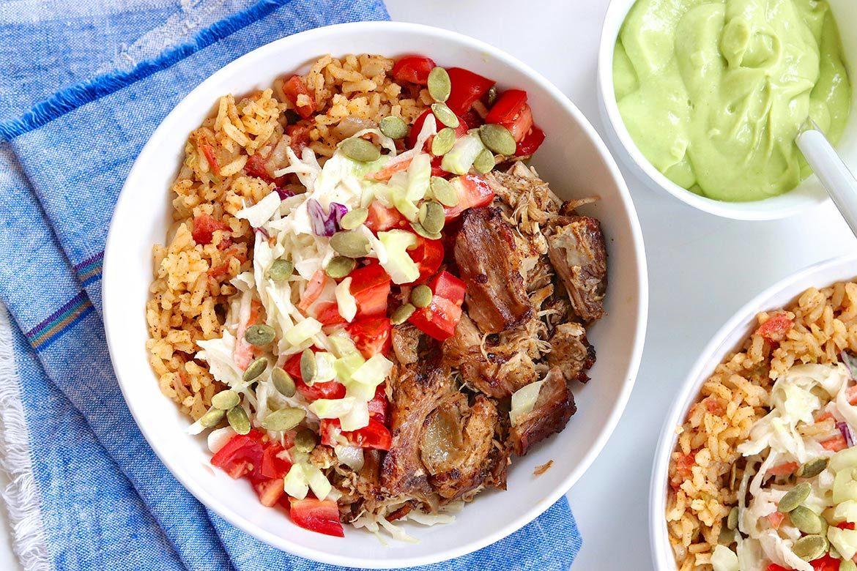 A few key components create the best burrito bowls!