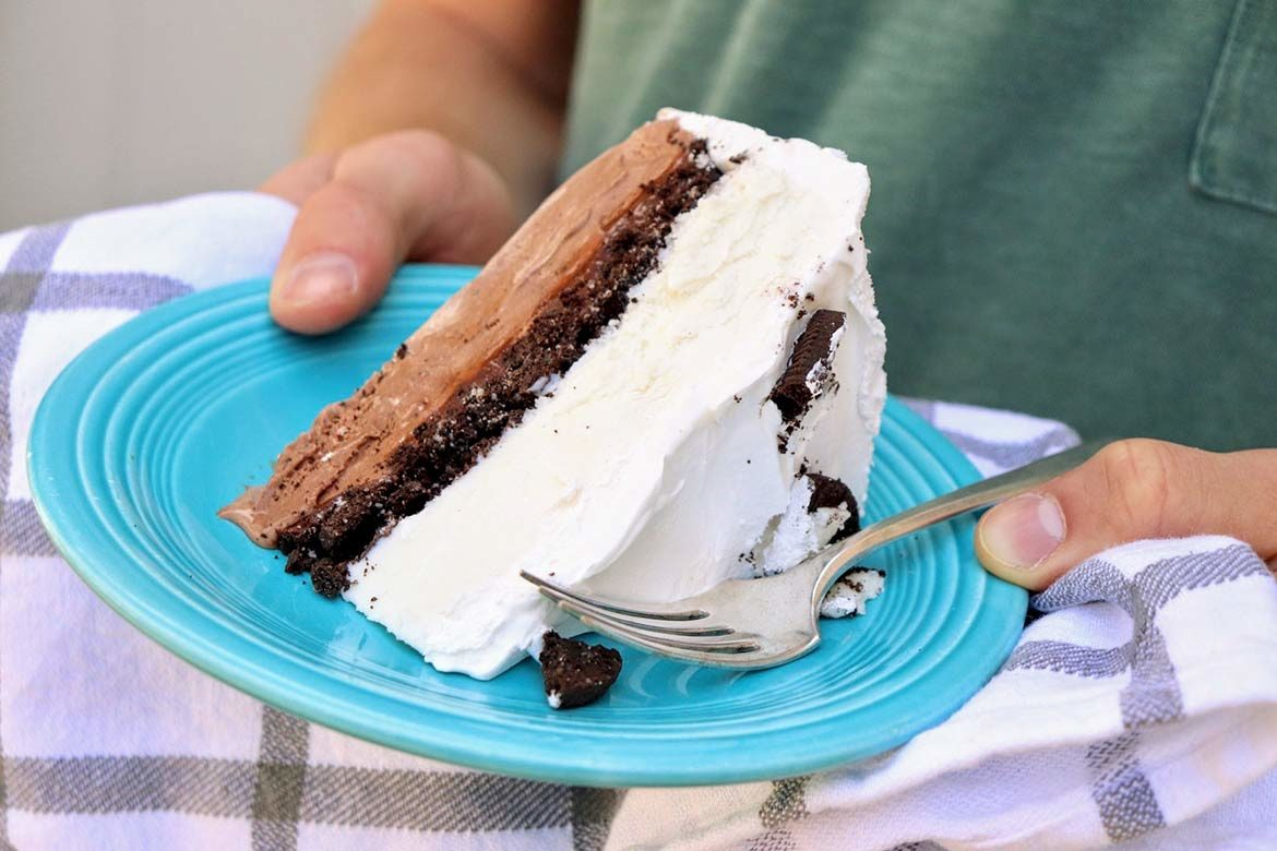 Guaranteed to be the hit of the party, this copycat of my favorite Dairy Queen ice cream cake includes fudge filling, chocolate crunchies, and all. There's also a worthy gluten-free option for those who need it—and nobody will detect a difference!