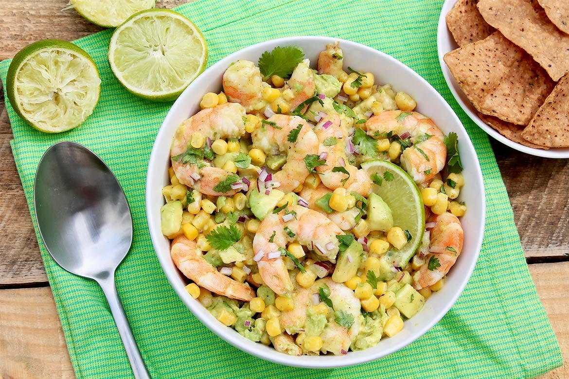 Effortless to pull together with a gourmet feel, Honey Lime Shrimp with Avocado & Corn is a go-to entertaining optionyet easy enough for busy weeknights. Light and healthy, too!