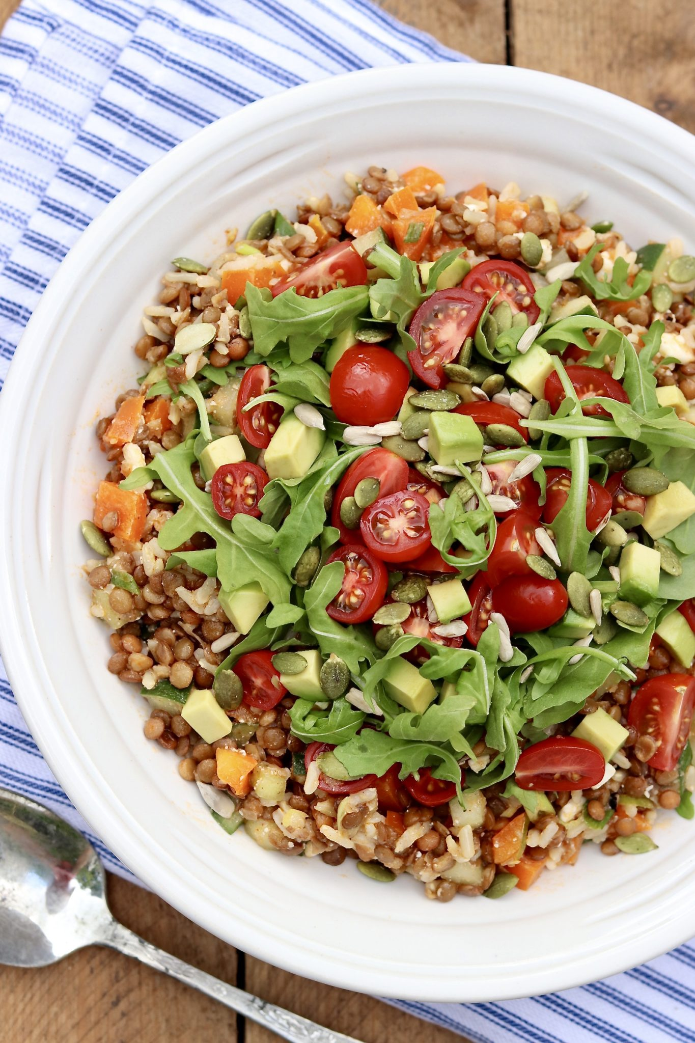 Light yet filling and endlessly adaptable, this protein-rich lentil salad will delight plant-based eaters and meat lovers alike!