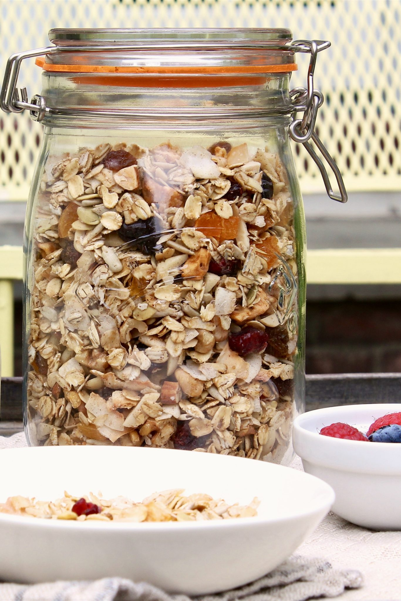 Toasted Maple Muesli is all you need for quick, healthy, satisfying breakfasts every day of the week — and just like granola, this muesli tastes good enough to eat all by itself!
