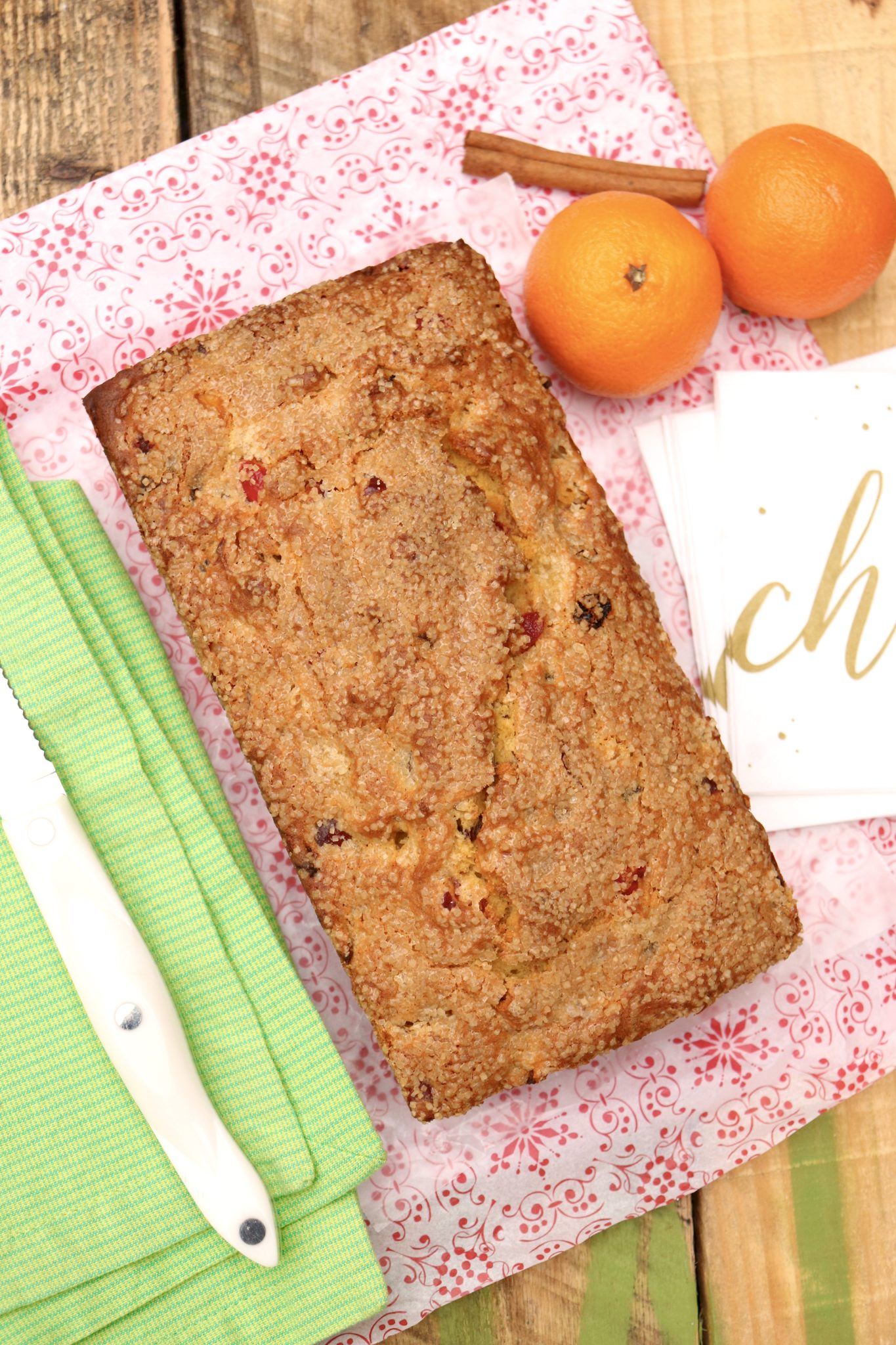 Fruitcake, reinvented: this quick and easy batter bread is packed with fruit and nuts but unlike traditional fruitcake is less sweet and more mildly spiced.