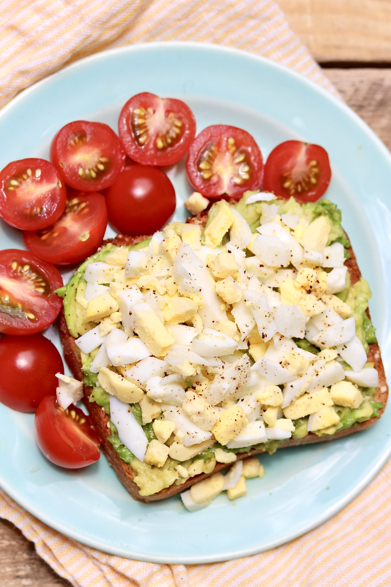 Spring & Summer Avocado Toast — A simple twist makes this protein-rich meal refreshingly delicious-and extra easy.