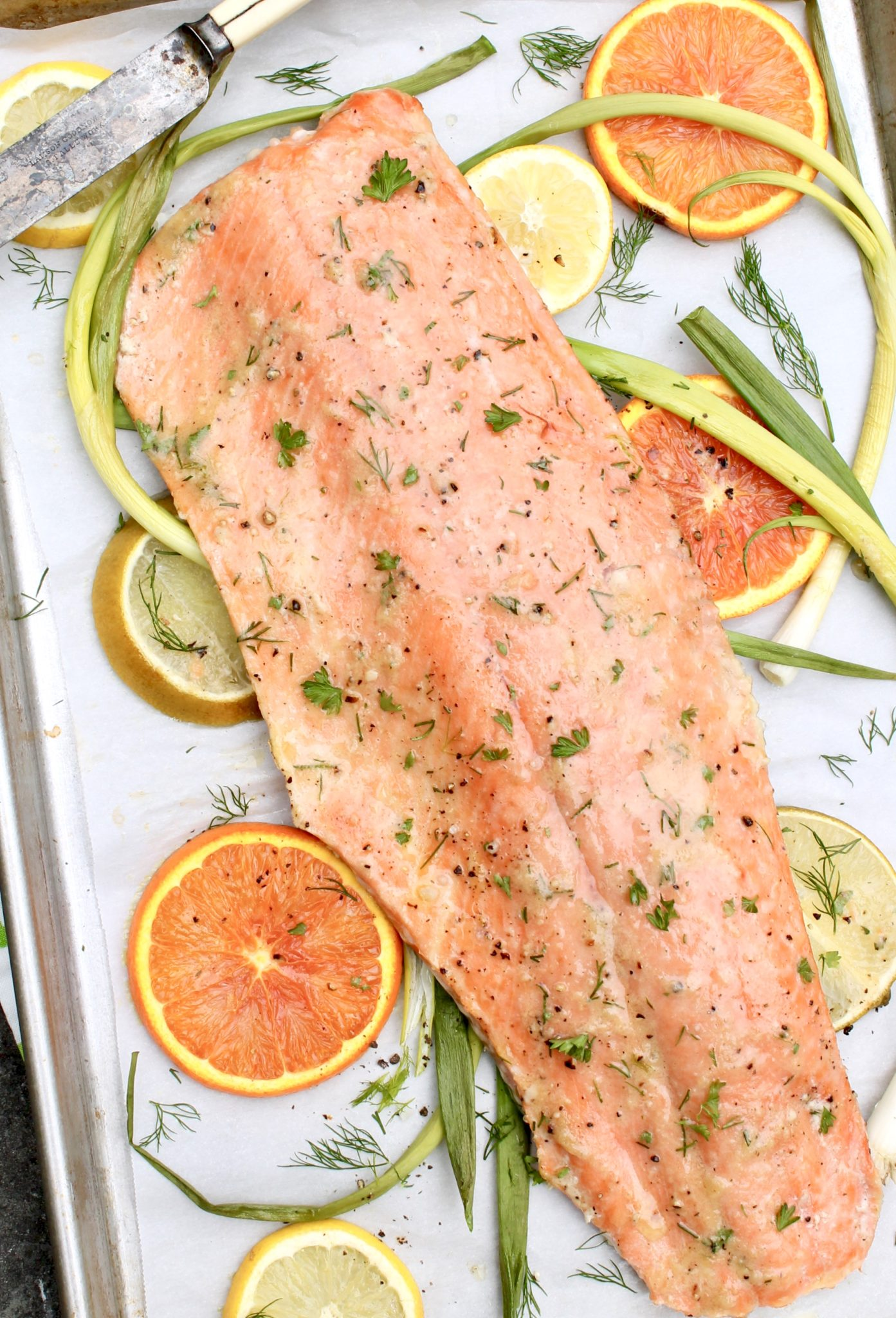 Slow Roasted Salmon-The need-to-know technique that assures perfectly cooked, tender salmon every single time. Plus you can use the approach with other favorite salmon recipes.
