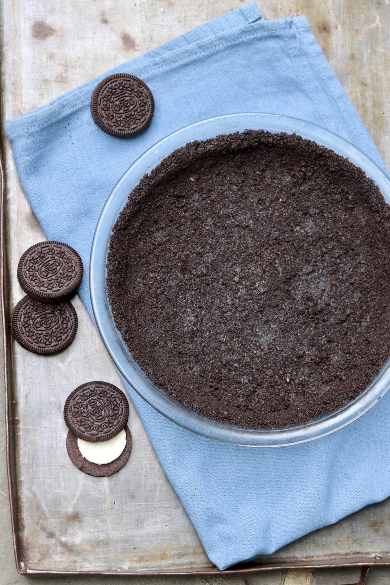 Easy Mud Pie-Atrue winner! The quick homemade crust adds something special (and allows for a gluten-free option) but a store-bought cookie crust works well, too