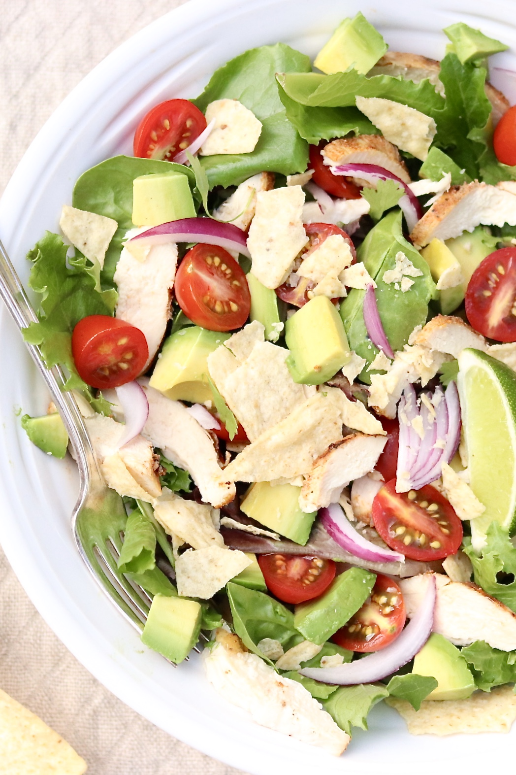 Sweetgreen's Guacamole Greens Salad (aka Guac Greens)-It's suddenly easy (and inexpensive) to devour this healthy, über popular restaurant salad on repeat thanks to this copycat recipe!
