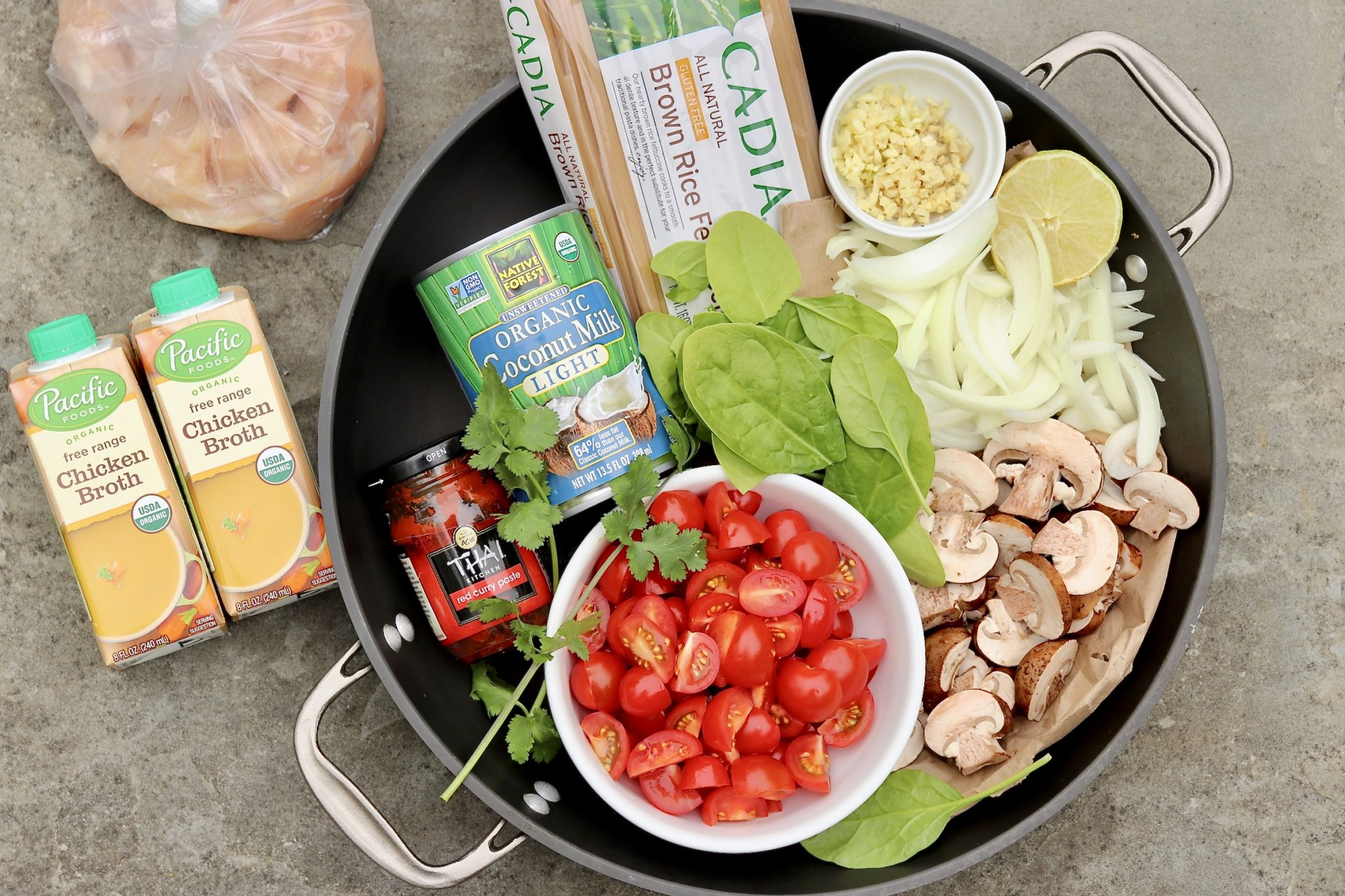 One Pot Thai Curry Noodles - Food52 challenge