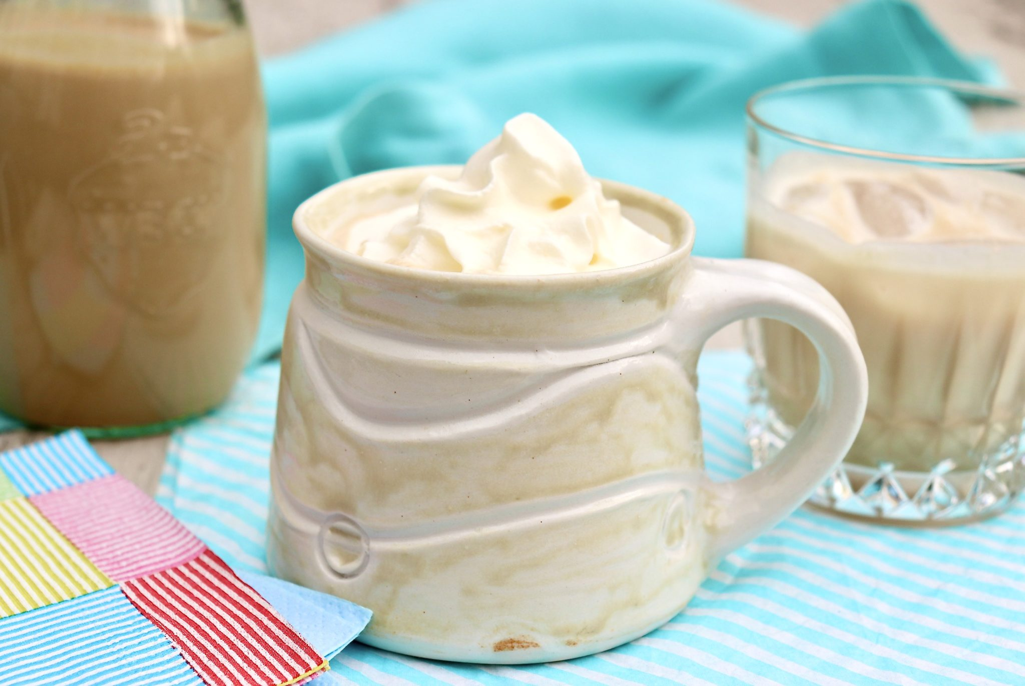 Homemade Bailey's Irish Cream is easy to make in your own kitchen and willsave you money and taste fresher, too.Lovely as a holiday or hostess gift, the sweet cream is atreat to have on hand and can beenjoyed in so many ways.