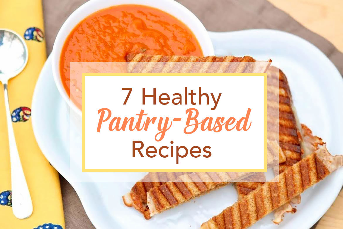 Whether cooking for one, two or a larger family, the following seven recipes will cover most of your bases in a deliciously healthy way!