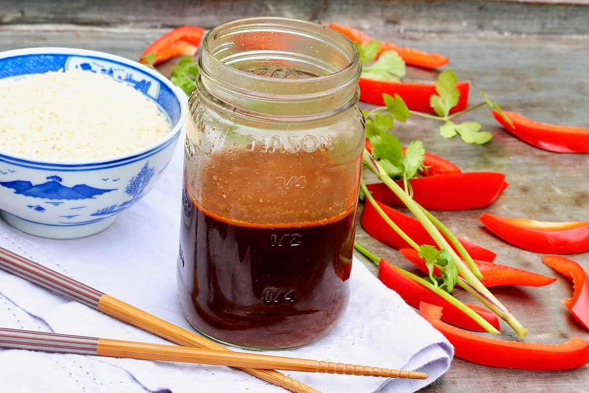 This flavor-packed, prep-ahead sauce can be paired with an endlessvariety of proteins and vegetables-and every single ingredientis a pantry staple!