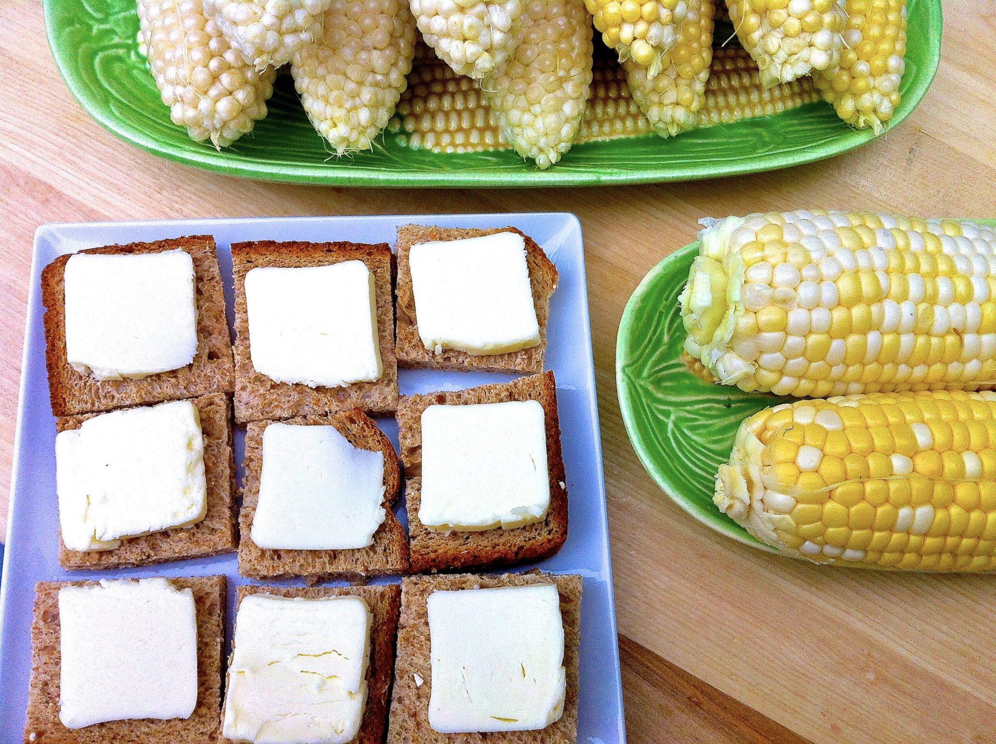 Best-ever corn buttering trick