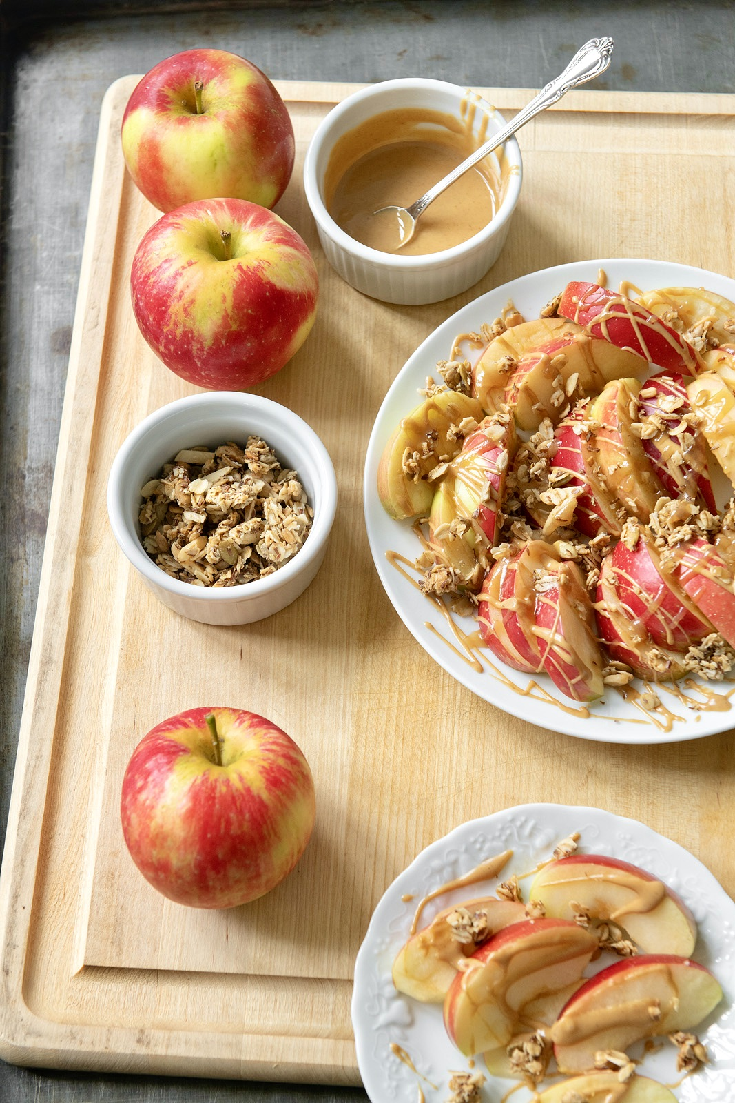 This fun twist on nachos delivers the flavor and crunch of a caramel apple, but in finger-food form. A hit with adults and kids alike!