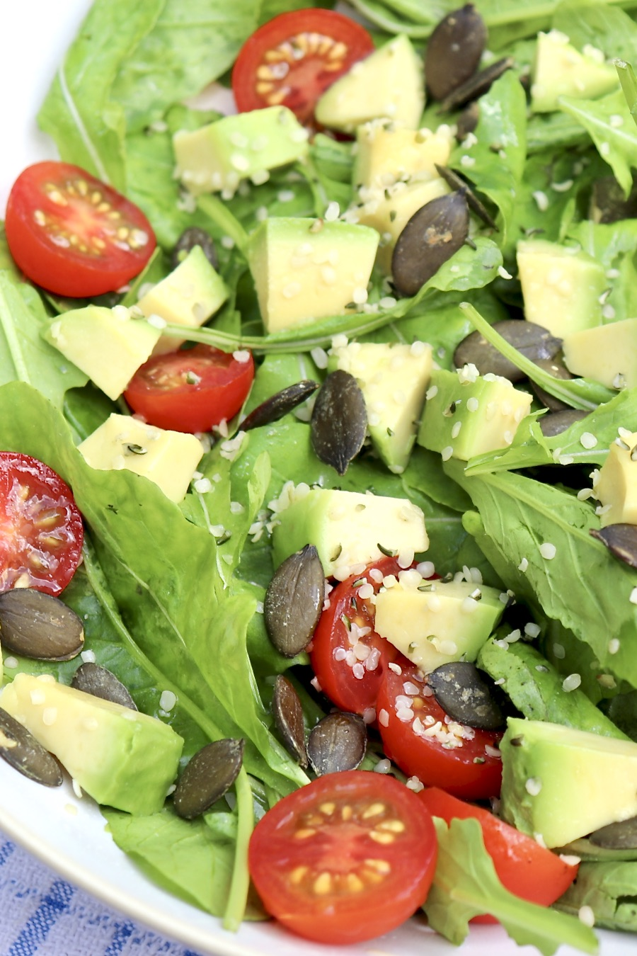 Crunchy, creamy, salt-and-peppery ingredients come together in the simplest of salads that may become a new favorite.