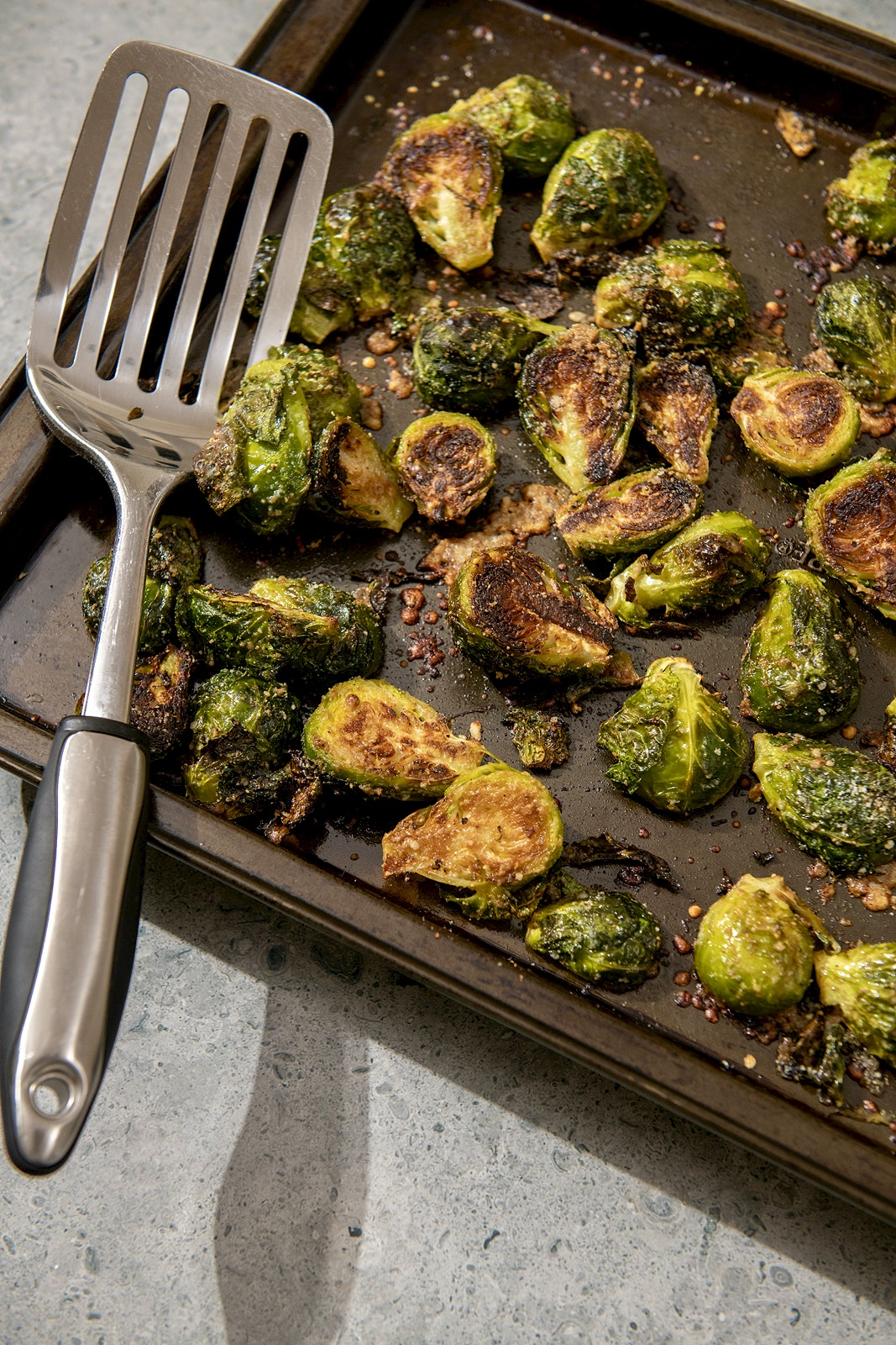 If you're not careful, these magical bites will disappear from the baking sheet before they make it to the table! Who knew we had to guard our vegetables?