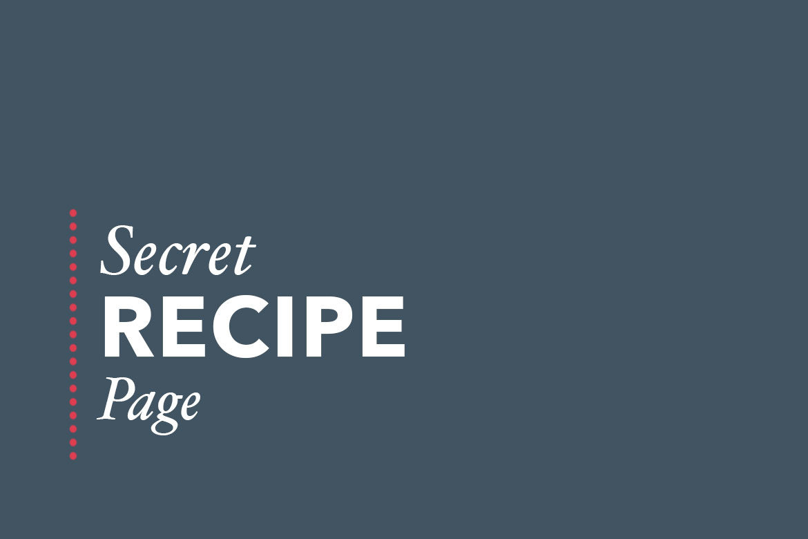If you've found this page, congratulations! You've found an ever-growing treasure trove of reader favorite recipes that is a little bit like a well-used community cookbook!