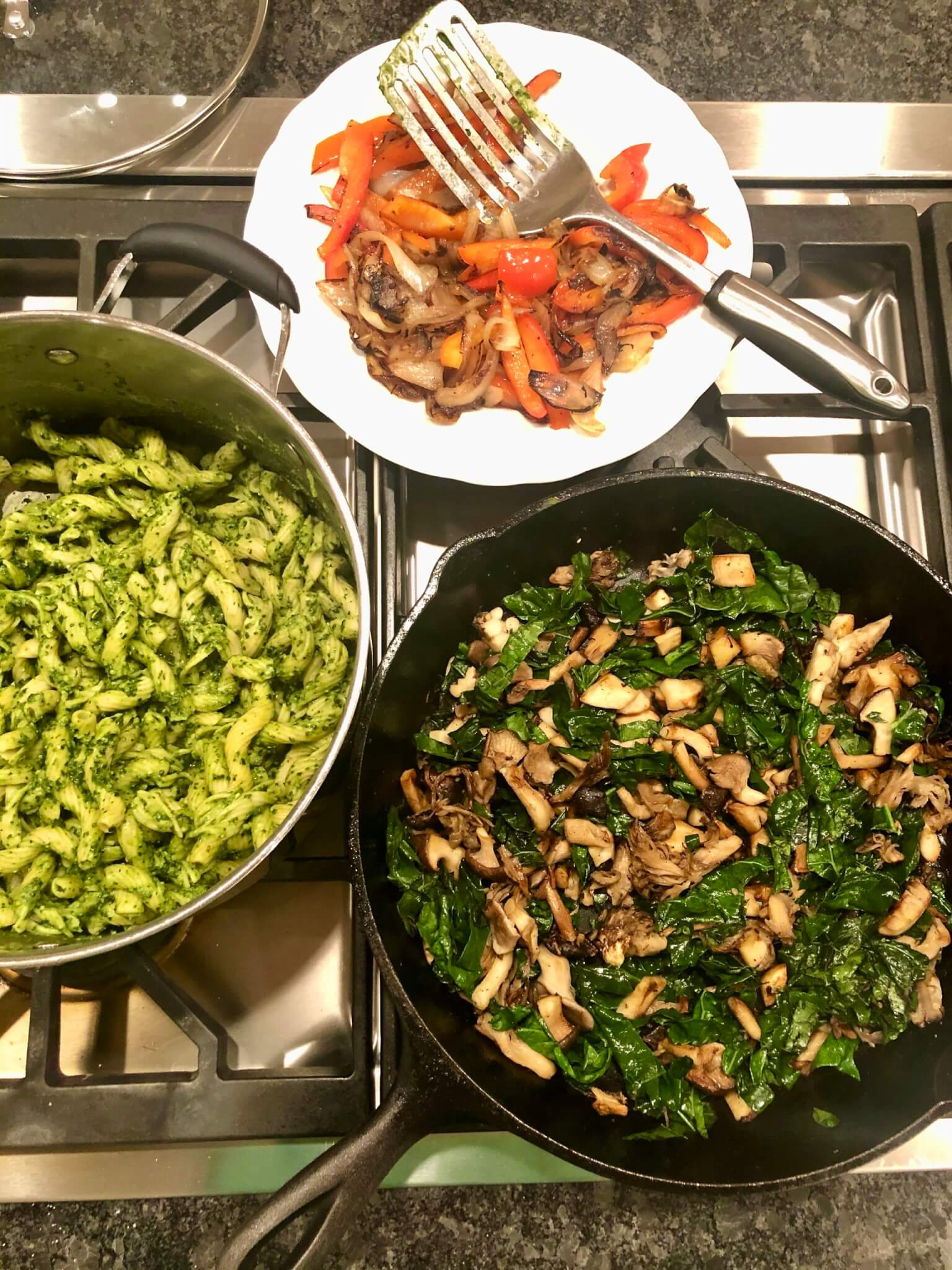One of the many variations on this satisfyingly healthy pasta dish