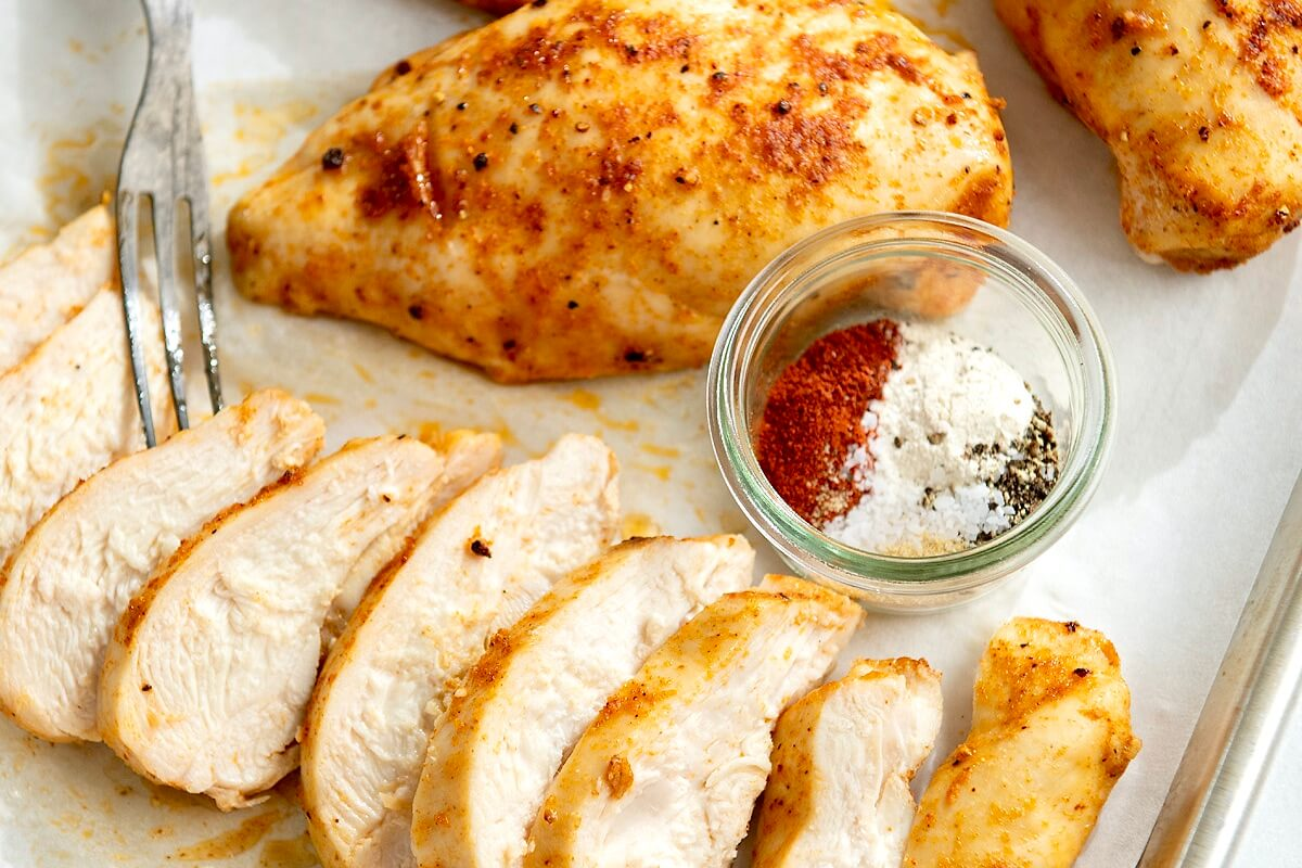 A simple spice rub enhances flavor and a few easy tricks ensure tender, juicy chicken in quick time!