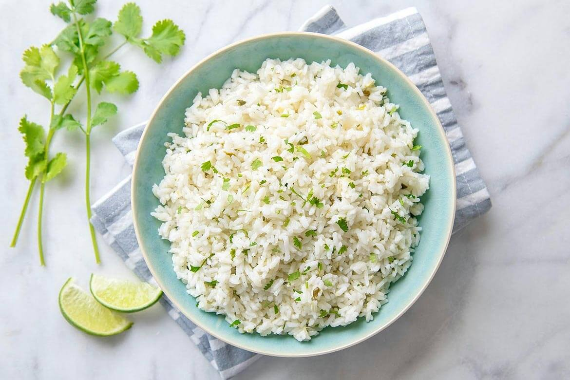 A few key additions transform basic rice into an extra special side dish that enhances a wide variety of cuisines. Not a fan of cilantro? Not to worry. You may omit it and the resulting lime rice will still be a winner!