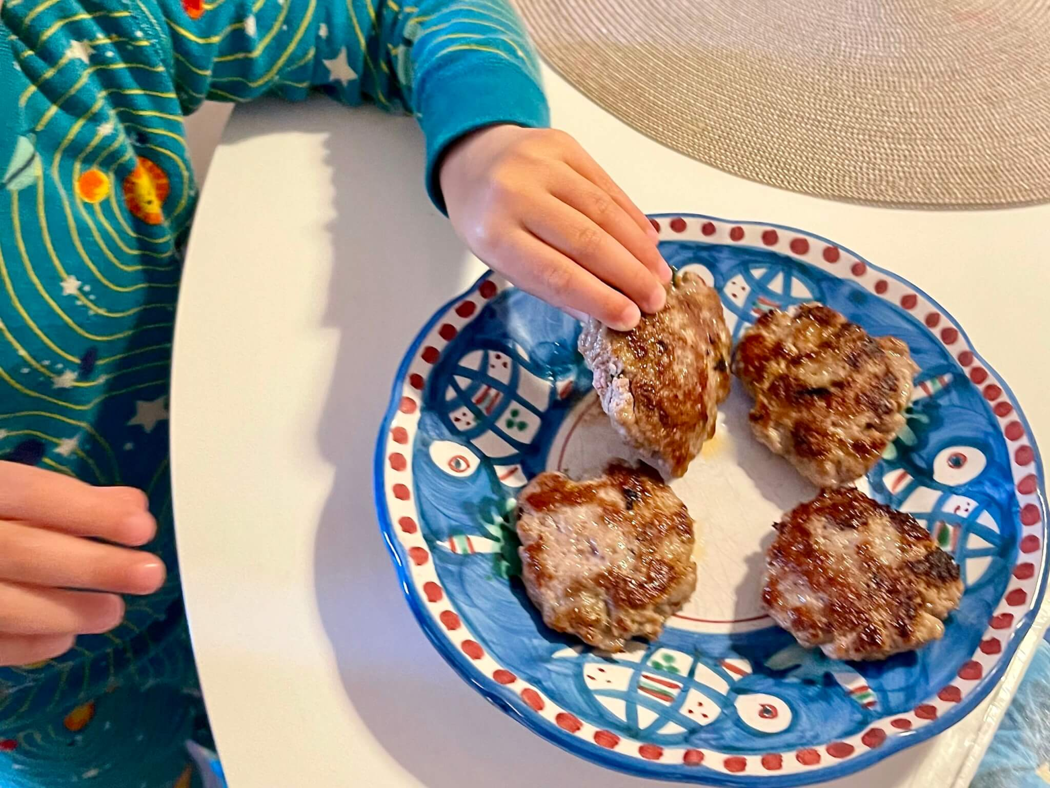 Love sausage but trying to eat healthier? Ground pork and a short list of spices create a healthy alternative that tastes just like sausage and can be used in so many ways.