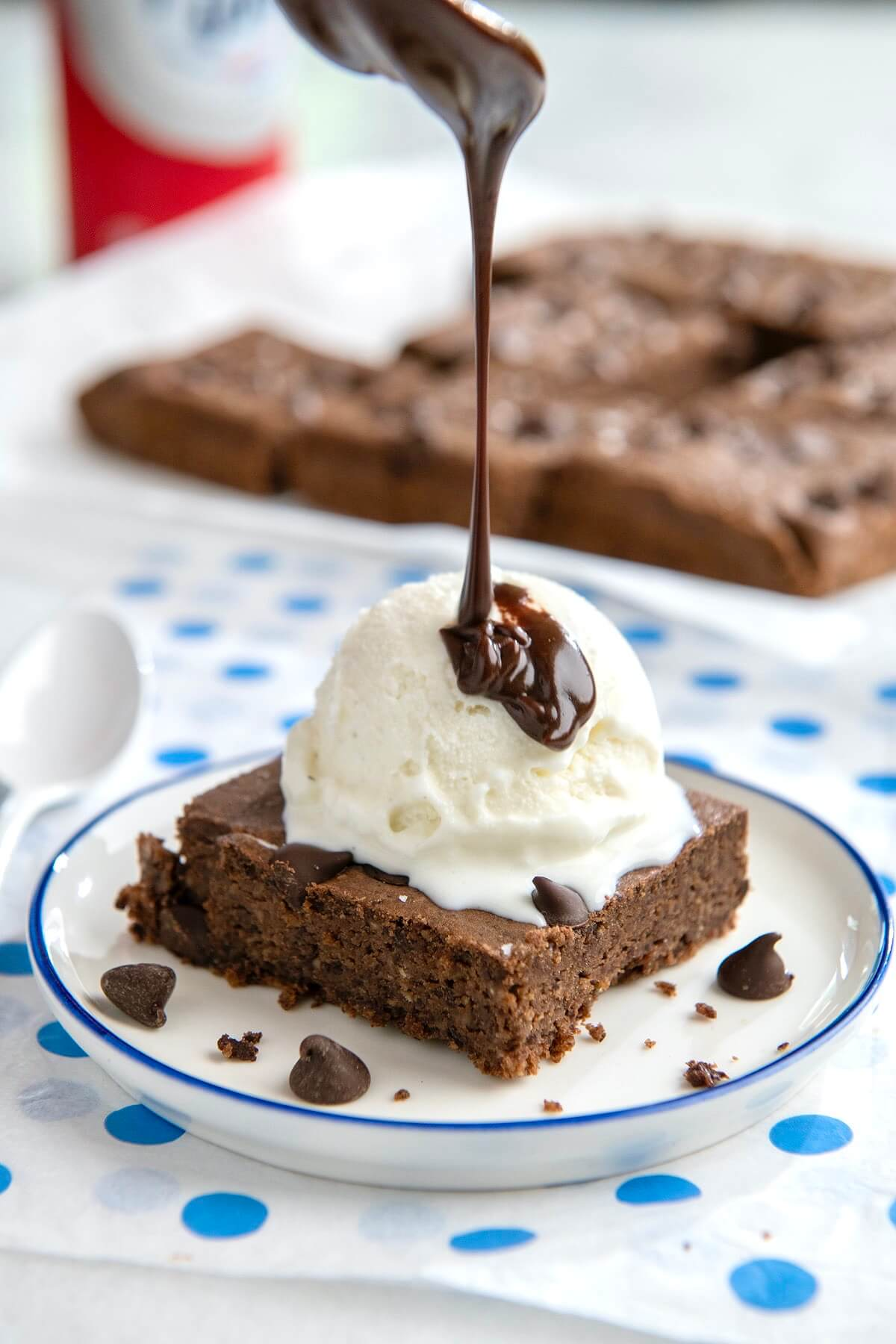 Decadent, fudgy brownies score big points in flavor and texture while delivering a filling dose of fiber and protein. A total dessert win!
