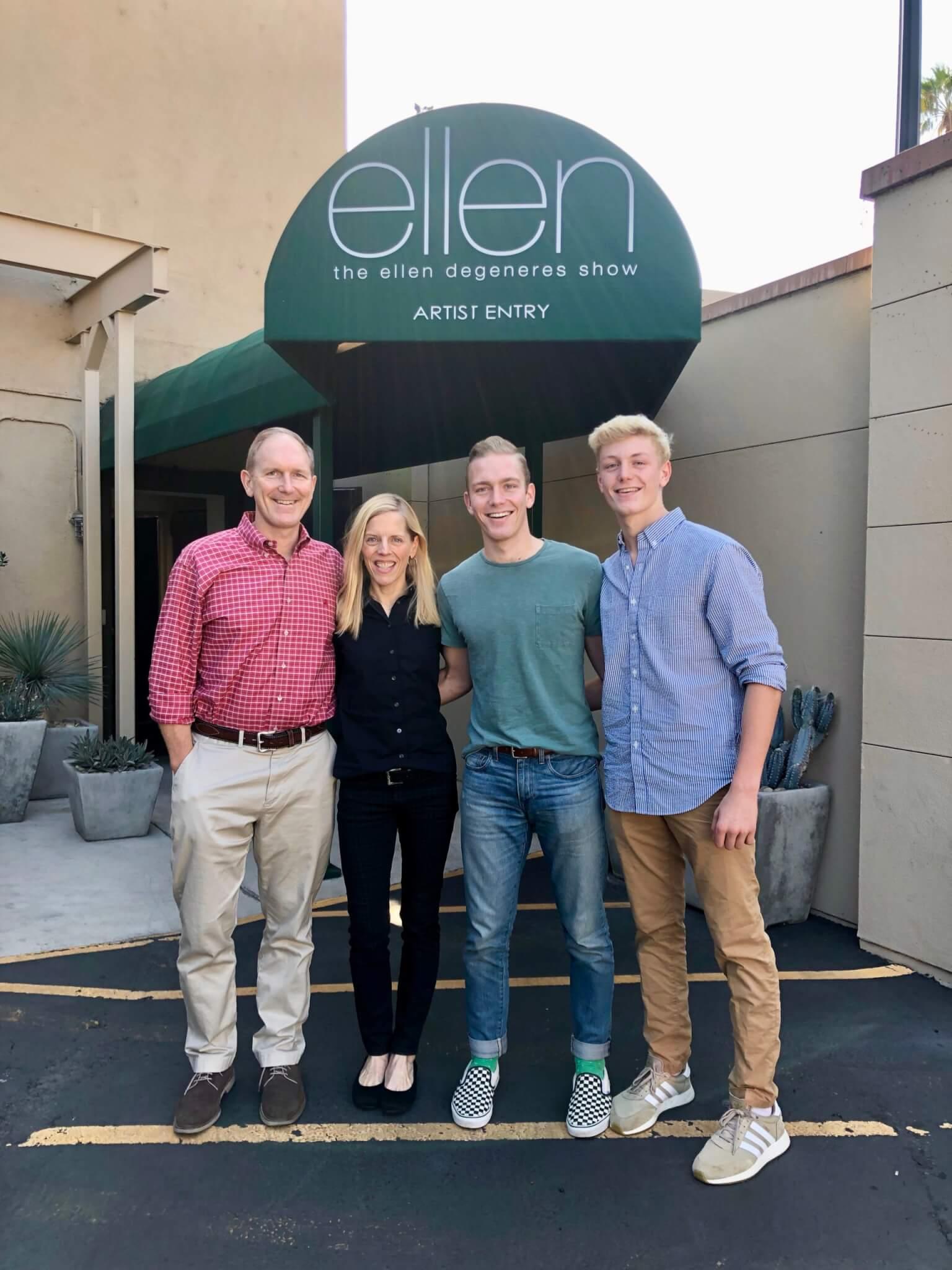 At the Ellen Degeneres Show