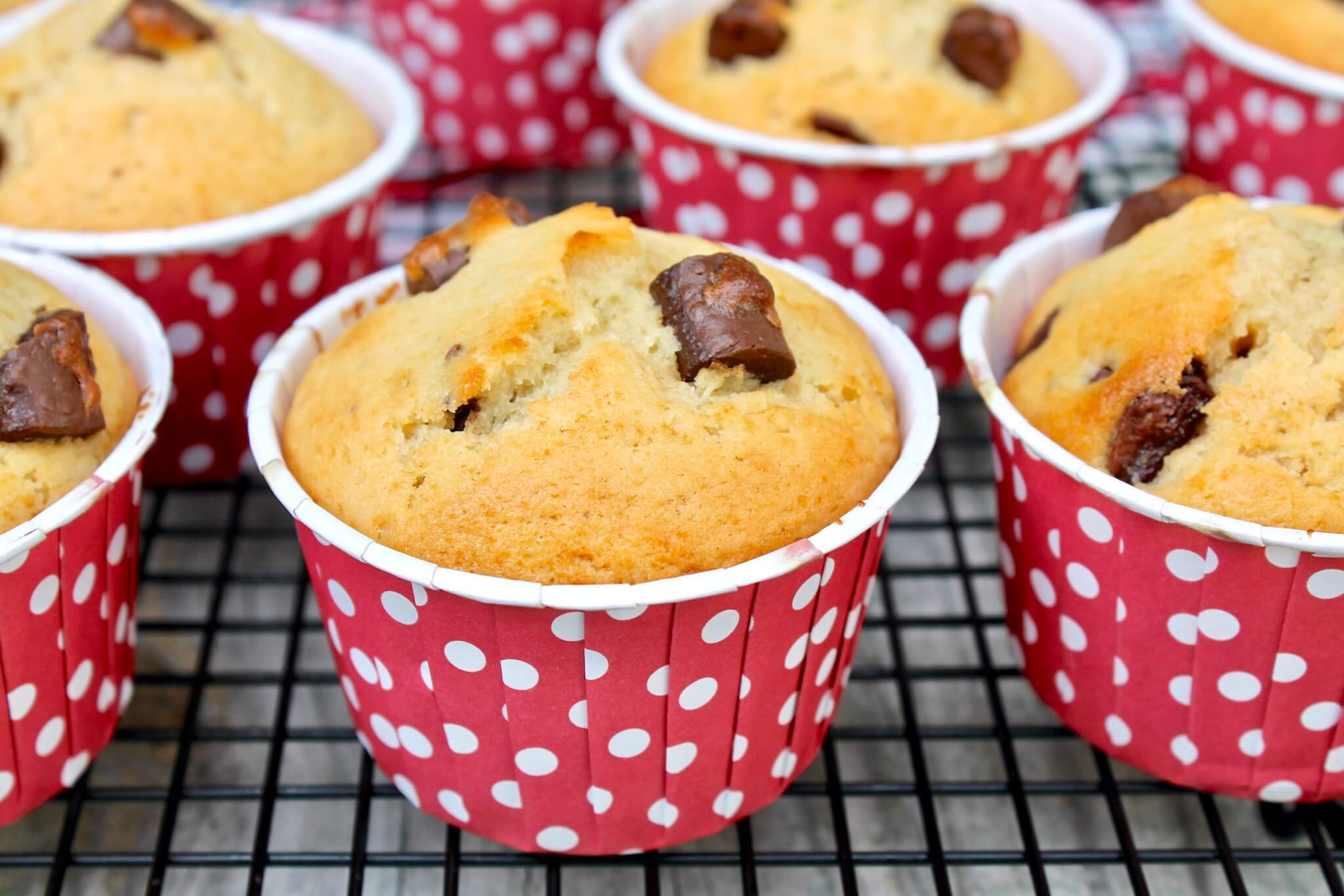 This quick and easy muffin recipe is perfect as a snack or dessert and makes a special breakfast treat. For a larger quantity, the recipe may easily be doubled and freezes quite well.
