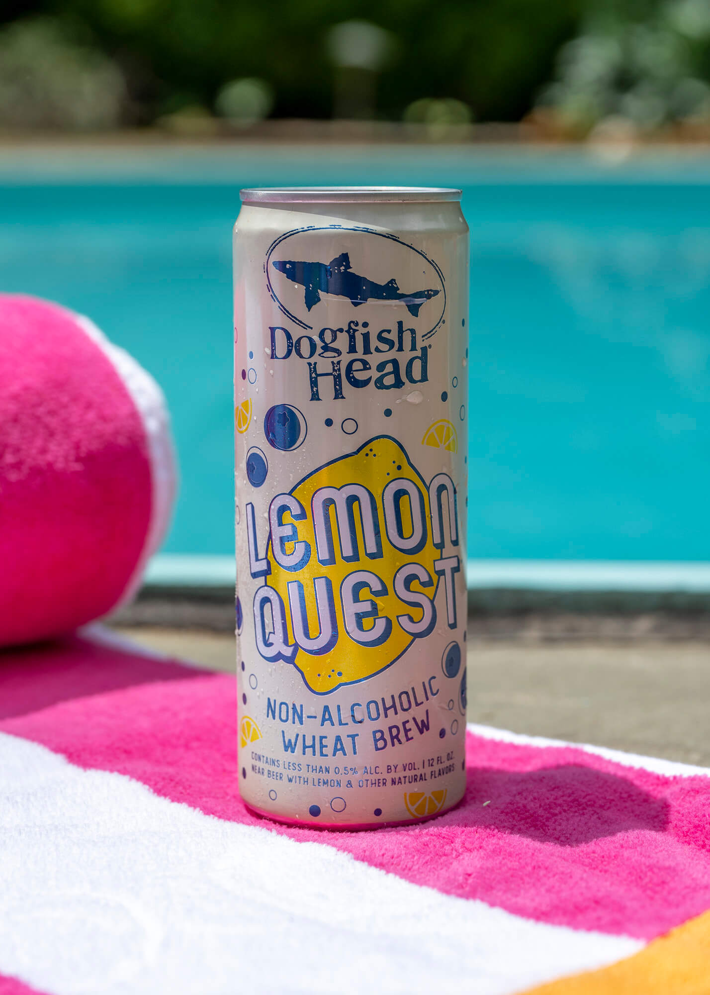 dogfish head lemon quest non-alcoholic beer